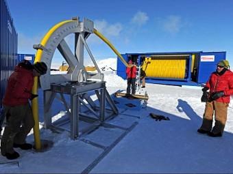 Британцы приостановили бурение антарктического озера из-за аварии