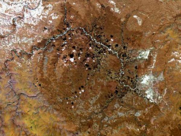 Попигайский кратер в Сибири связали с массовым вымиранием
