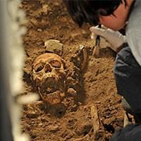 На Урале обнаружены останки древнего человека