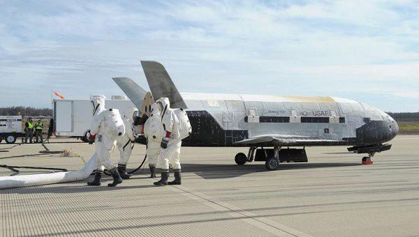 Беспилотник США вернулся на Землю после секретной миссии