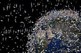 Ученые придумали космический корабль для сбора космического мусора