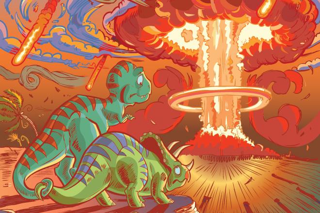 Геологи ищут следы падения астероида, убившего динозавров