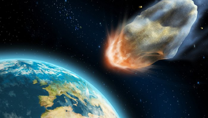 КЗемле стремительно приближается астероид
