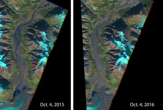 ВКанаде пропала река— ееперестал питать местный ледник