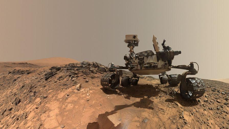 6 августа марсоход Curiosity отметил 5-летие своей миссии