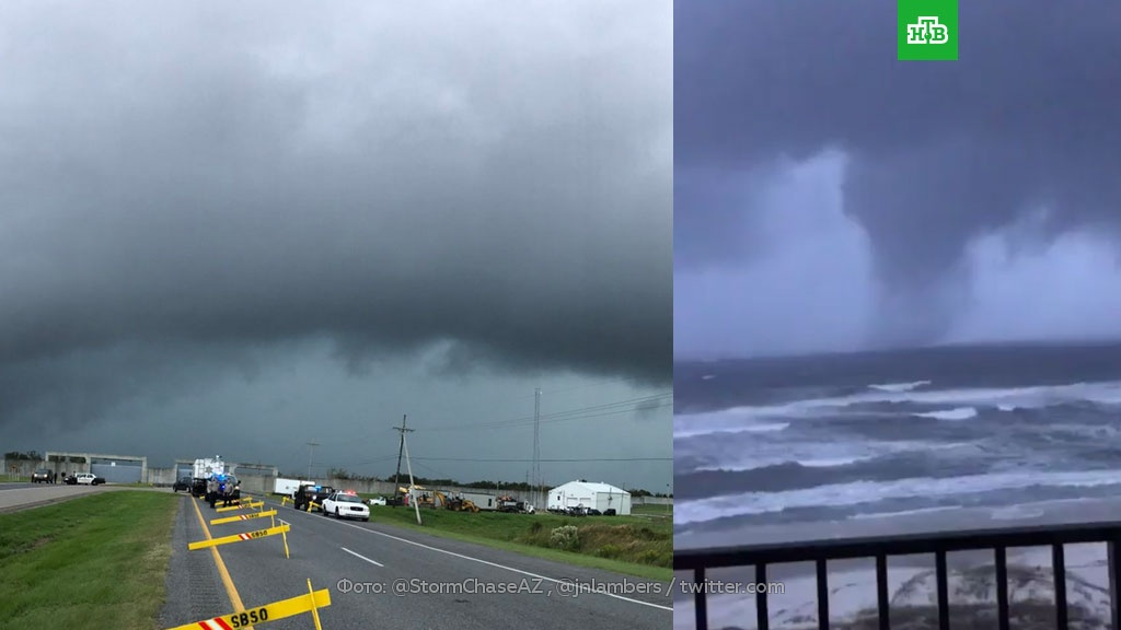 Ураган «Нэйт» добрался до Нового Орлеана