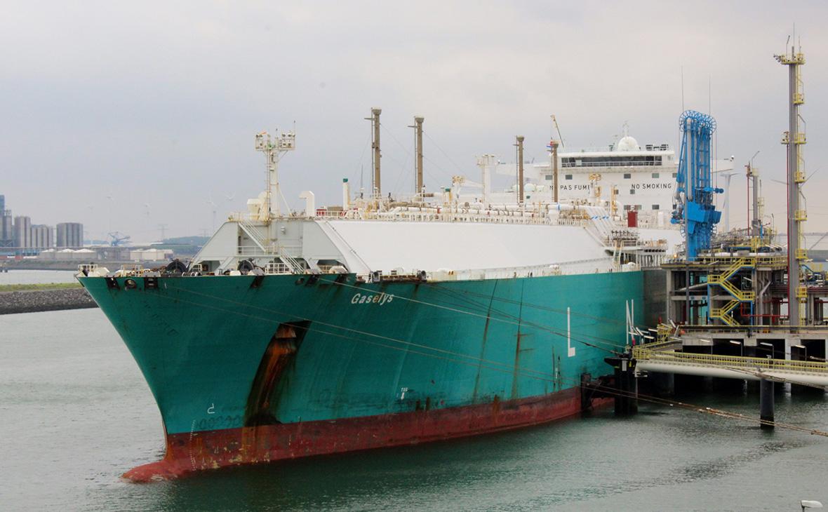 Танкер Gaselys доставил в Бостон сжиженный газ из России