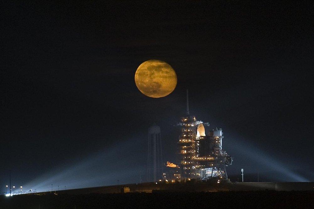 31 января взойдет «кровавая» голубая Луна