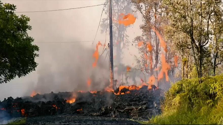 На Гавайях начал извергаться вулкан Килауэа