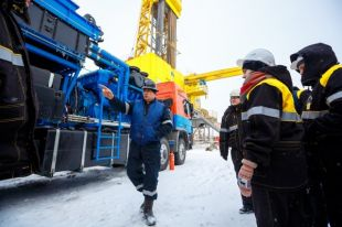 Западно-Эргинское месторождение дало первую нефть