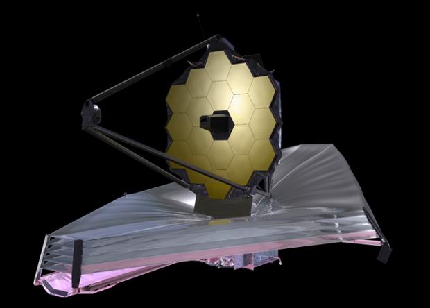 Запуск телескопа «Джеймс Уэбб» перенесен на 2021 год