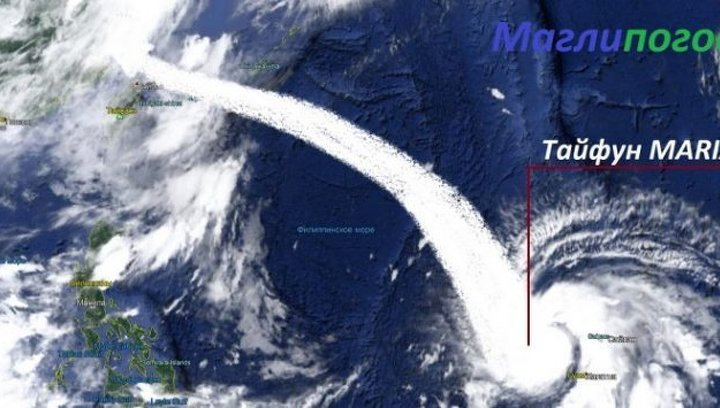 На Китай обрушился тайфун «Мария»
