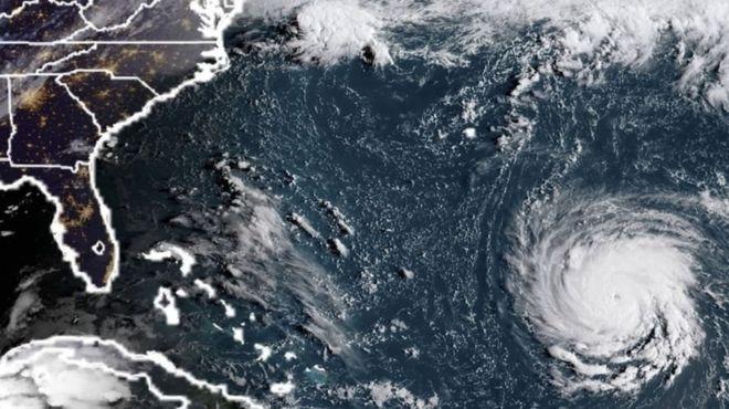 На США надвигается ураган «Флоренс»