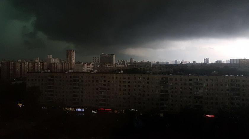 27 сентября в Москве ожидаются шквальные ветры