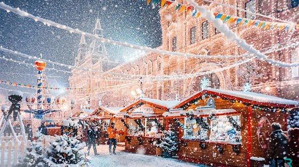 Какая погода ждет москвичей в январе 2019 года