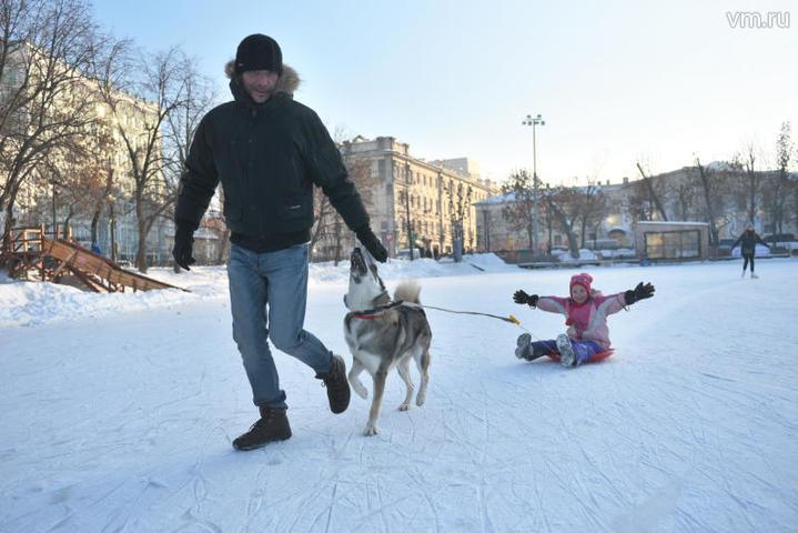 В Москву идет умеренное похолодание