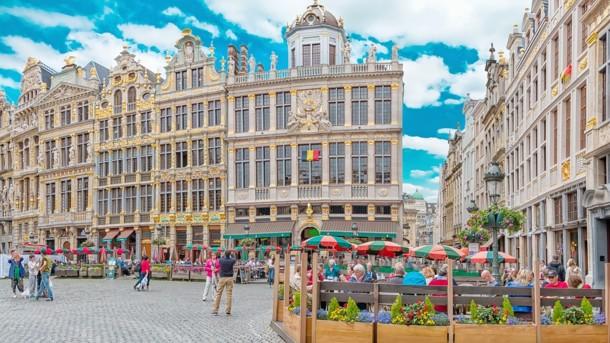 В конце февраля в Бельгию пришло лето