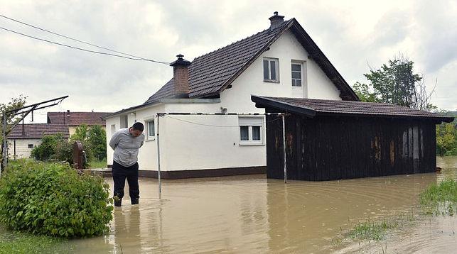 Боснию и Герцеговину затопило