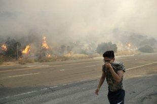Калифорнию охватили масштабные пожары