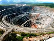 В Красноярском крае на дне карьера обрушилась горная порода