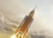 NASA успешно испытала тяжелую ракету SLS