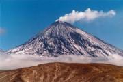 Вулкан Ключевская сопка снова проснулся
