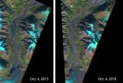 Канадские ледники активно тают