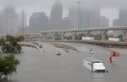 На штат Техас  ураган «Харви» вылил 57 трлн. литров воды