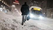 В США и Канаде лютует зима