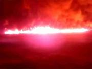 Пожар на магистральном нефтепроводе Куйбышев-Тихорецк потушен