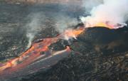 Вулкан Килауэа продолжает извергаться