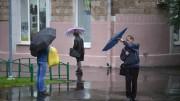 Москвичей ждет дождливый конец недели