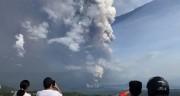 На Филиппинах началось извержение вулкана Тааль